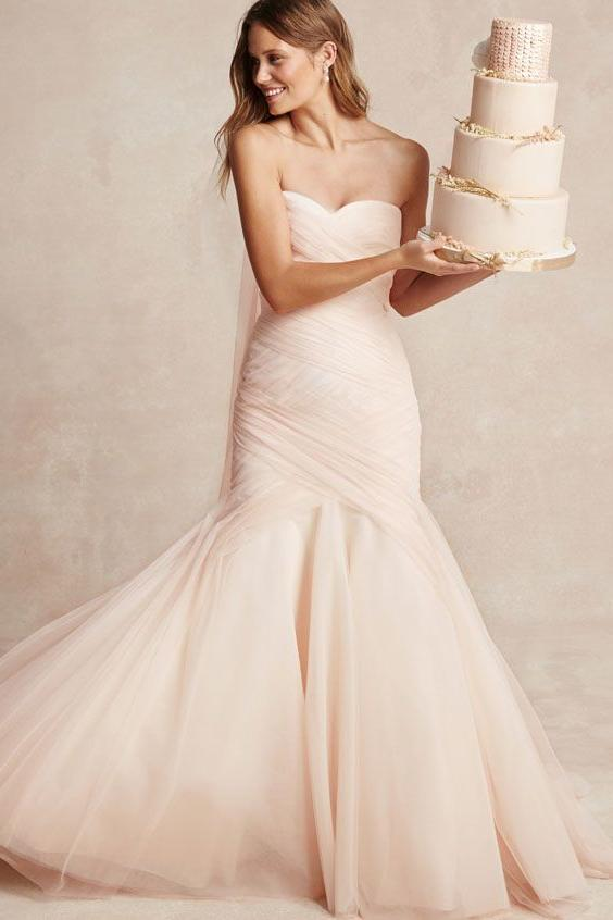Soft and Sweet Tulle Gown