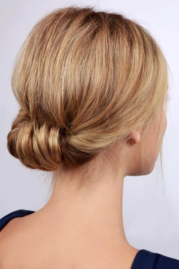 Great Updos For Medium Length Hair - Southern Living
