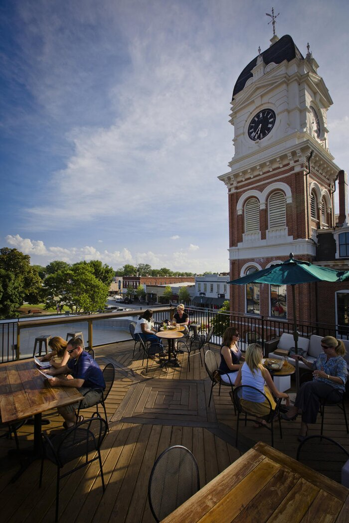 the prettiest small towns in georgia southern living