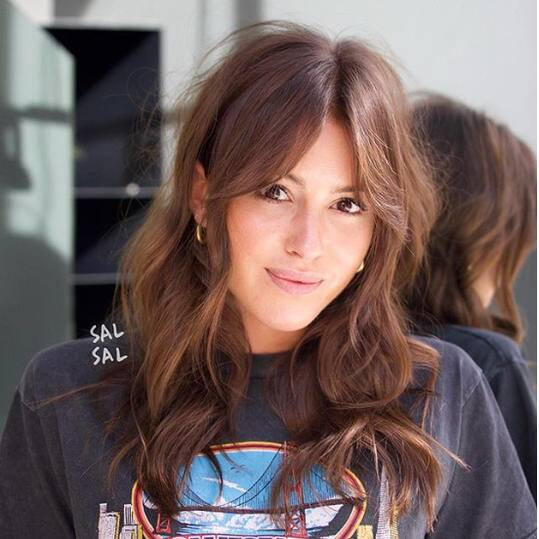 The Best Bangs For A Round Face