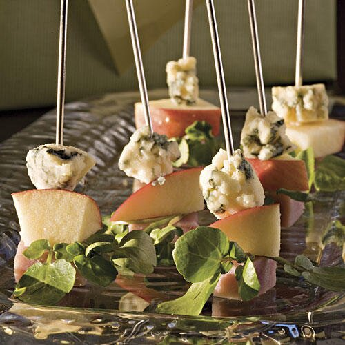 ham and cheese skewers