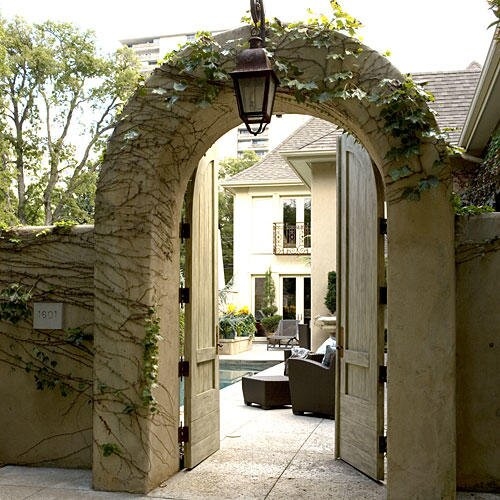 3 Courtyard Designs - Southern Living