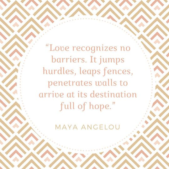 50 most popular quotes for wedding invitations southern living maya angelou quote stopboris Gallery
