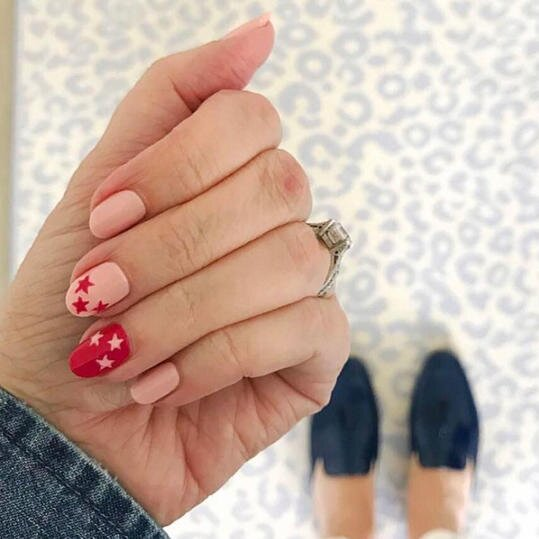 25 Valentine's Day Nail Designs You'll Fall Head Over Heels For - 25 Valentine's Day Nail Designs You'll Love - Southern Living
