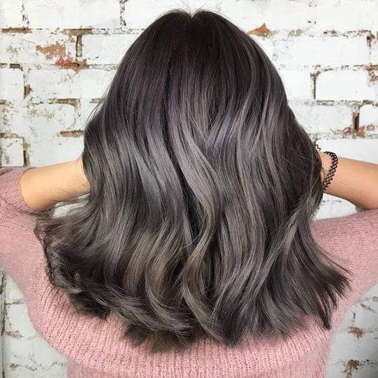 Image result for ash gray hair 2019