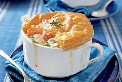 Best casserole recipes southern living loaded chicken bacon pot pie forumfinder Images