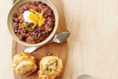 Best chili recipes southern living vegetarian black beam chili forumfinder Image collections