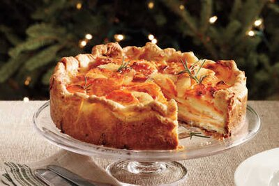 Christmas holiday recipes southern living potato gratin with rosemary crust christmas recipes forumfinder Image collections