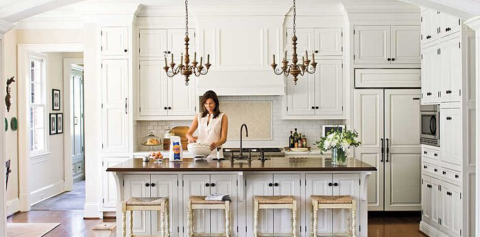 Kitchen Finishes and Fixtures - Southern Living