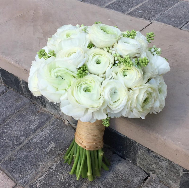 Ranunculus Wedding Bouquets Simple