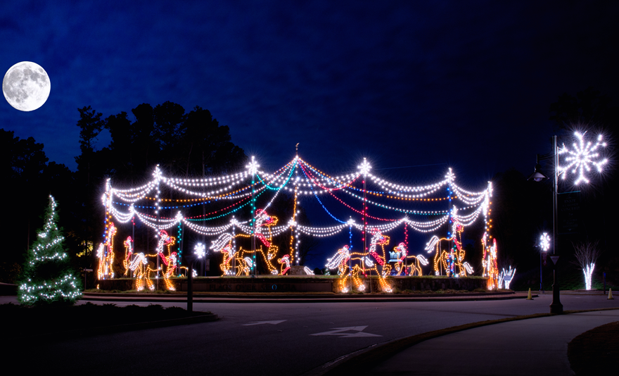 RX_1711_Christmas Festivals_Magical Nights of Lights - Best Christmas Festivals In The South - Southern Living