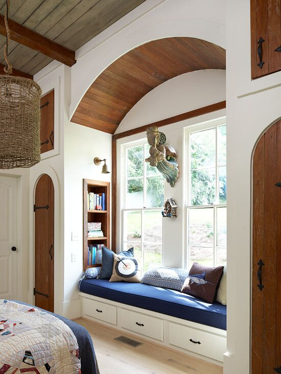 Window Seat Design Ideas - Hideout-furniture-slips-into-the-wall-to-provide-you-more-space