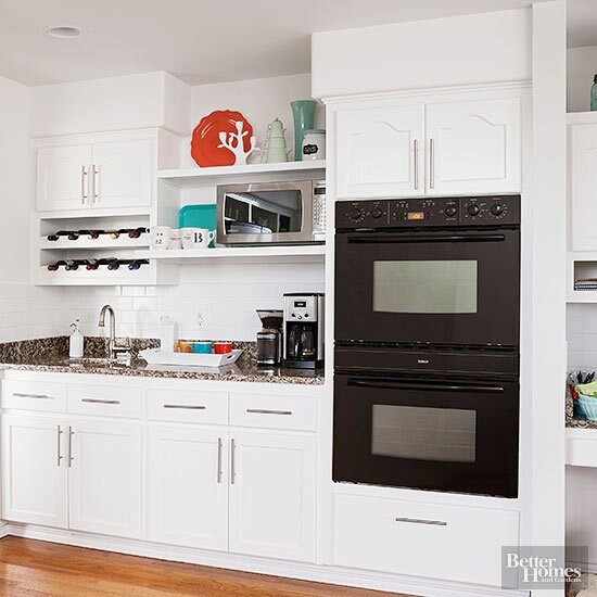15 Ideas For Decorating Above Kitchen Cabinets