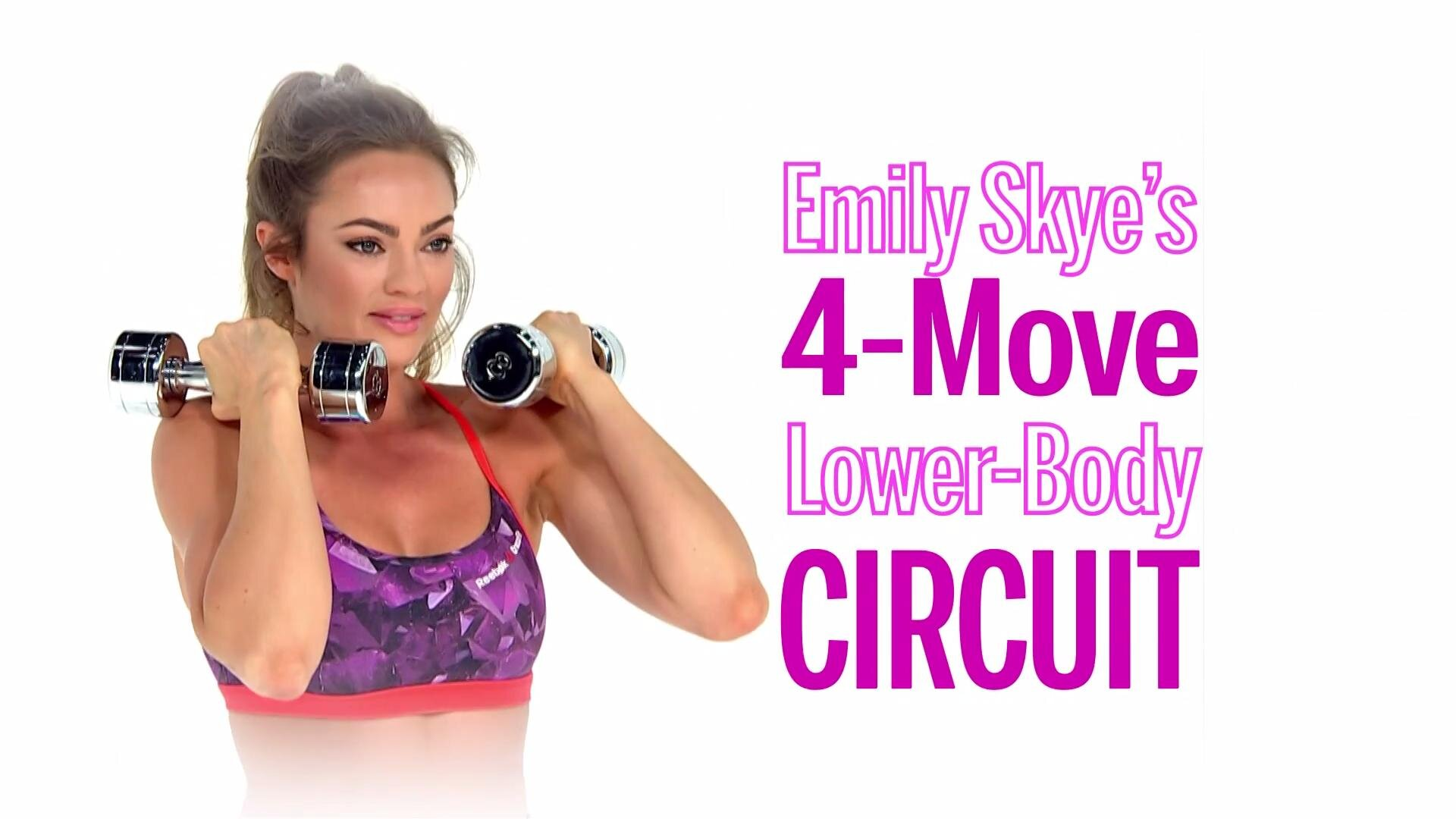 The Best Online Emily Skye Workout Videos Health Totalbody Circuit You Can Do While Travel Were Obsessed With These Quick Workouts At Home From Super Fit Trainer