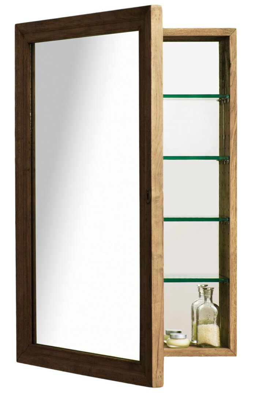 Bathroom Mirror Shelf - Sunset Magazine