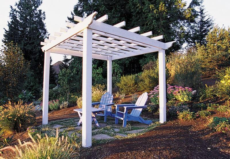 Handsome garden trellis - How To Build A Backyard Pergola - Sunset Magazine