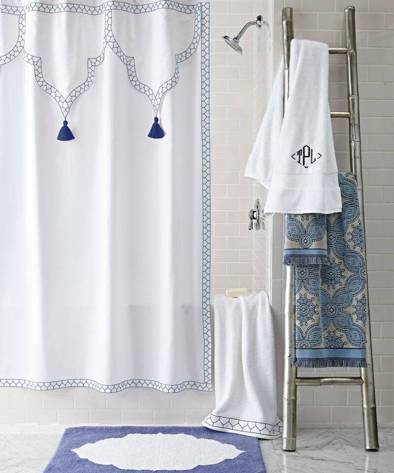 8 Fabric Shower Curtains Your Bathroom Desperately Needs