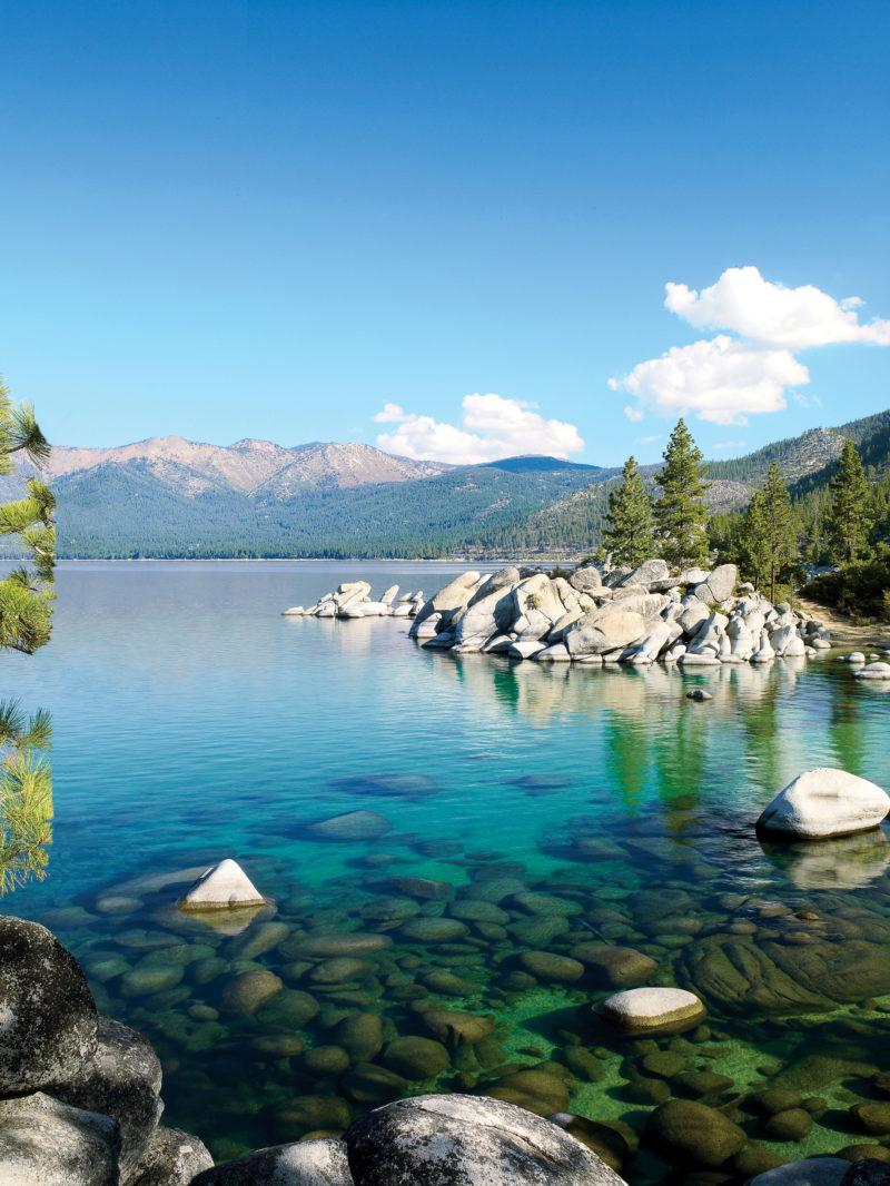 lake tahoe summer getaway - sunset magazine