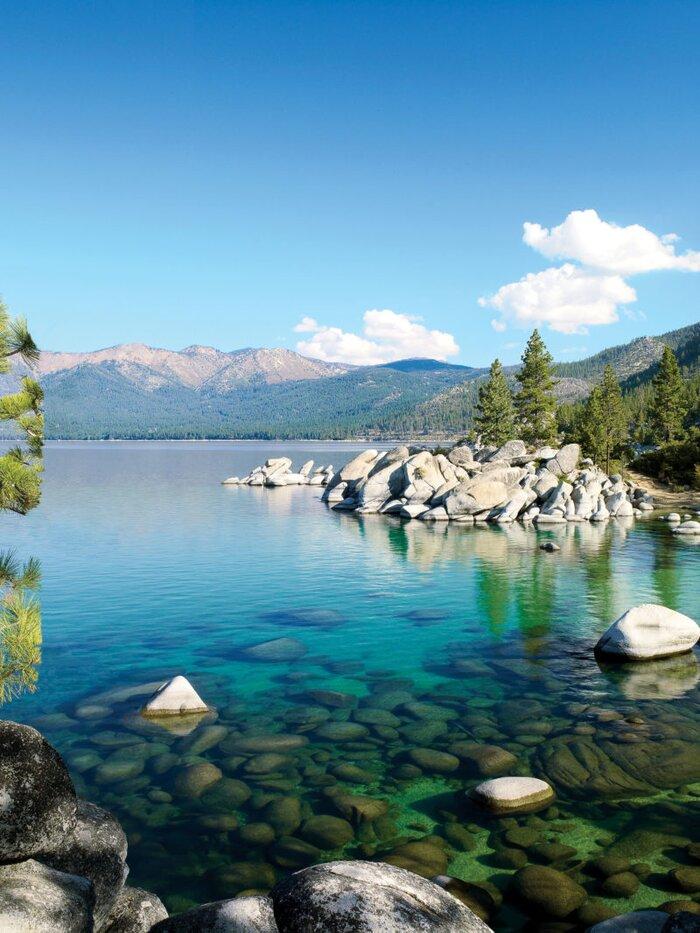 Sparkling Scenery At Lake Tahoe