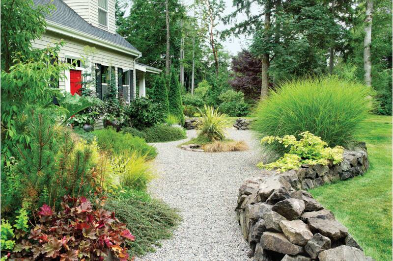 Landscaping with Gravel - How To Landscape Gravel - Sunset Magazine
