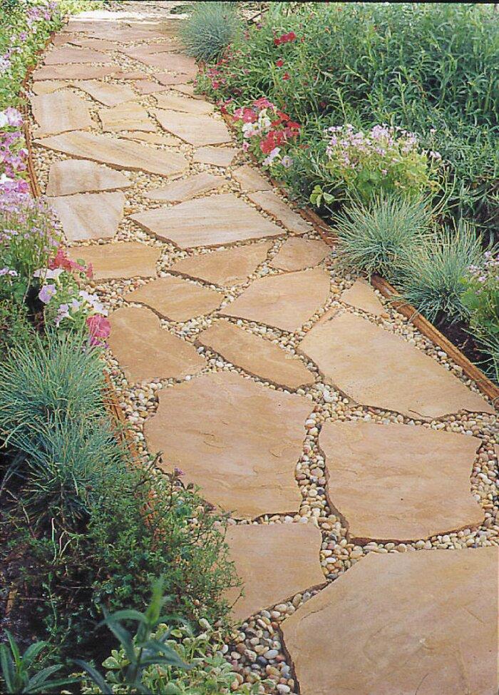 installing a flagstone path sunset magazine