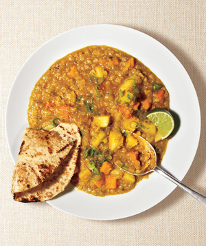 how to cook healthy lentils