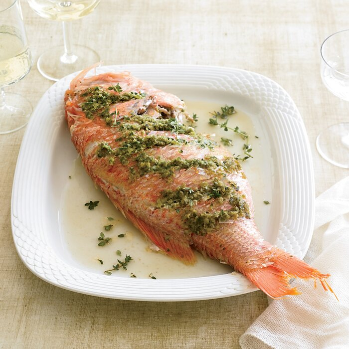 recipe: how to grill red snapper fillets on gas grill [29]