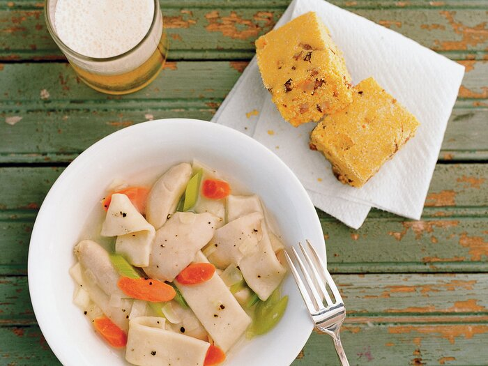 recipe: what is a good accompaniment to chicken and dumplings [11]