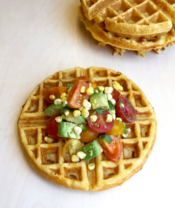 recipe: cornmeal waffles egg whites [31]