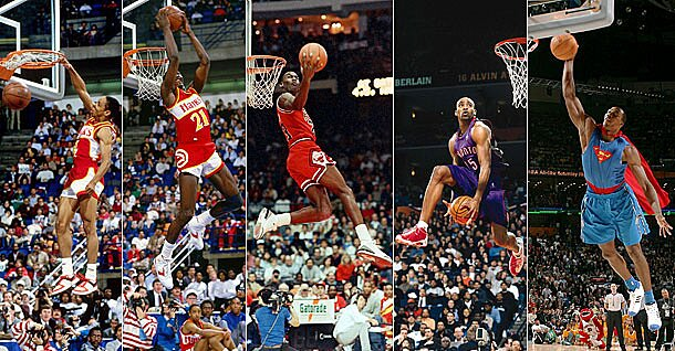 6fed121a79e0 The 10 greatest Slam Dunk Contests