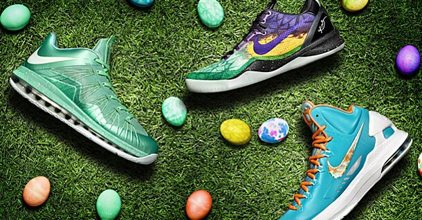 c2461c1c9363 Nike unveils Easter sneakers for LeBron James