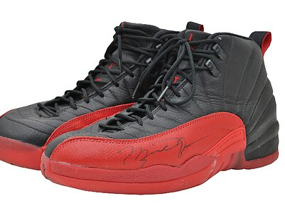 online store 1d19e a120f Michael Jordan s  Flu Game  sneakers auctioned for  104K by former Jazz  ball boy   SI.com