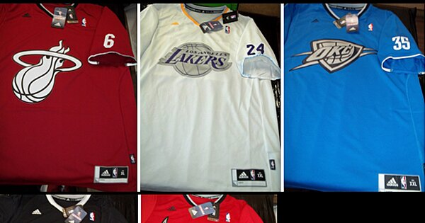 nbas christmas day sleeved jersey designs by adidas reportedly leak online sicom - Nba Christmas Jerseys 2013