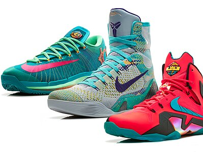 new concept 5feb8 451a2 Nike unveils  Elite Series Hero Collection  for LeBron James, Kevin Durant  and Kobe Bryant   SI.com