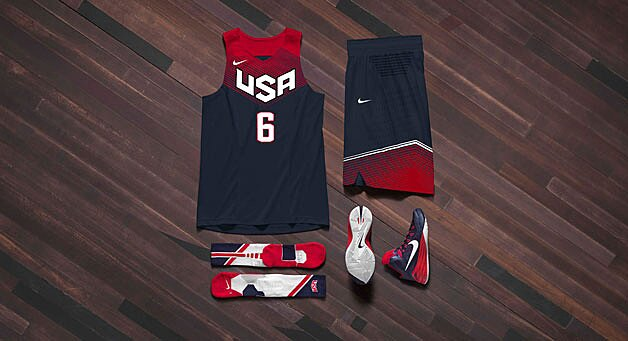 7181e152f63 Nike unveils USA Basketball uniforms for 2014 FIBA World Cup