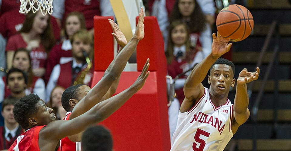 Indiana holds on late to beat No. 22 Ohio State behind ...