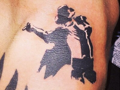 0cbb803e6 Real Madrid s Sergio Ramos gets a Michael Jackson tattoo