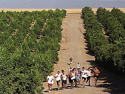mexicans begin jogging