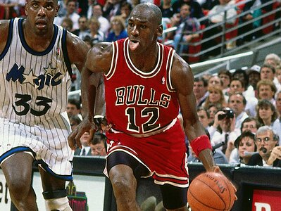 quality design 676e7 33658 Michael Jordan once wore No. 12 with the Bulls   SI.com