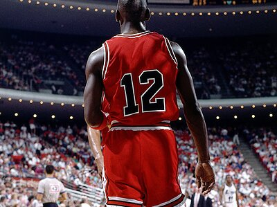 Michael Jordan once wore No. 12 with the Bulls  0efd746a37