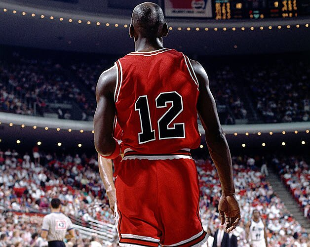 new style c5b93 93514 Michael Jordan once wore No. 12 with the Bulls | SI.com