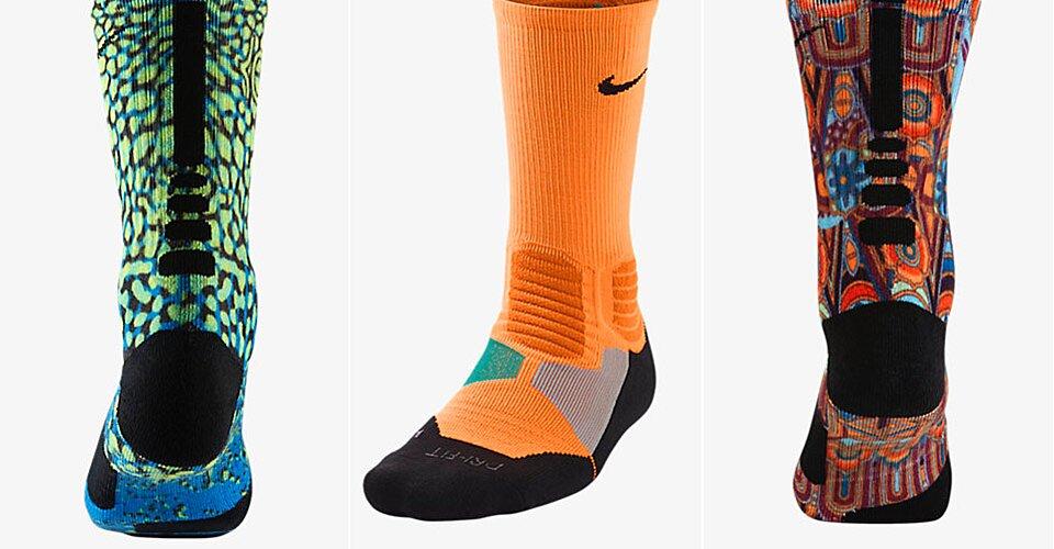 1d92a5db1fdd Nike unveils new customization options with high-tech basketball socks