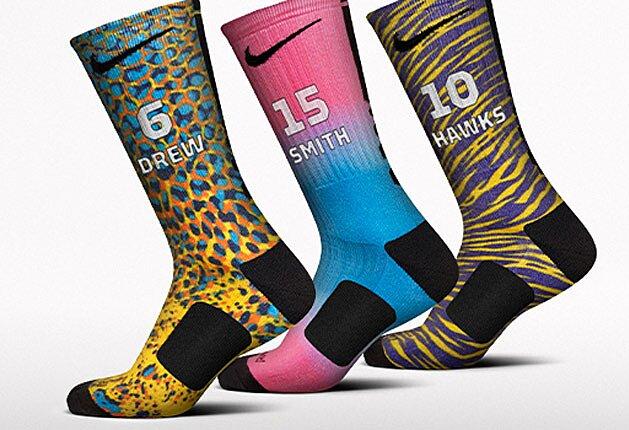 6a9e7a52f Nike unveils new customization options with high-tech basketball socks |  SI.com