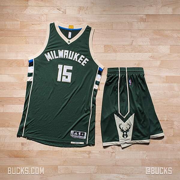 big sale af3cb df37f Milwaukee Bucks unveil new home, road jerseys | SI.com