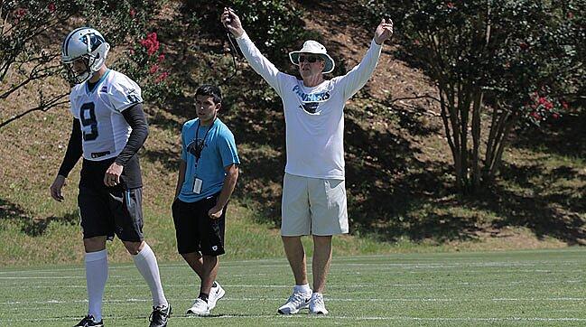 7fe2f8469 Carolina Panthers' Bruce DeHaven battles prostate cancer while coaching |  SI.com