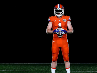 newest 60055 a1296 Florida Gators: Team unveils all-orange jerseys   SI.com