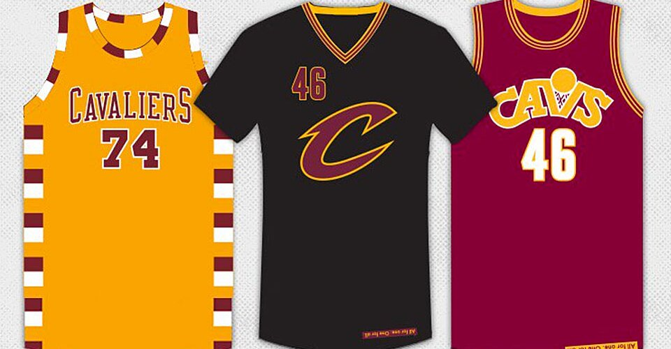 official photos 571f1 6b833 Cleveland Cavaliers: three alternate jerseys for LeBron ...
