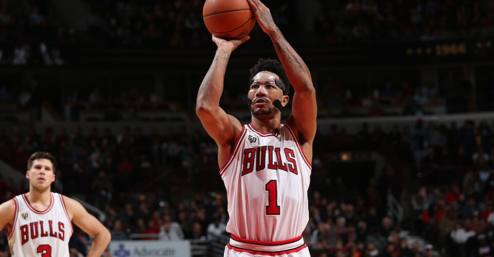 Chicago Bulls: Derrick Rose played Cavaliers with blurred ...