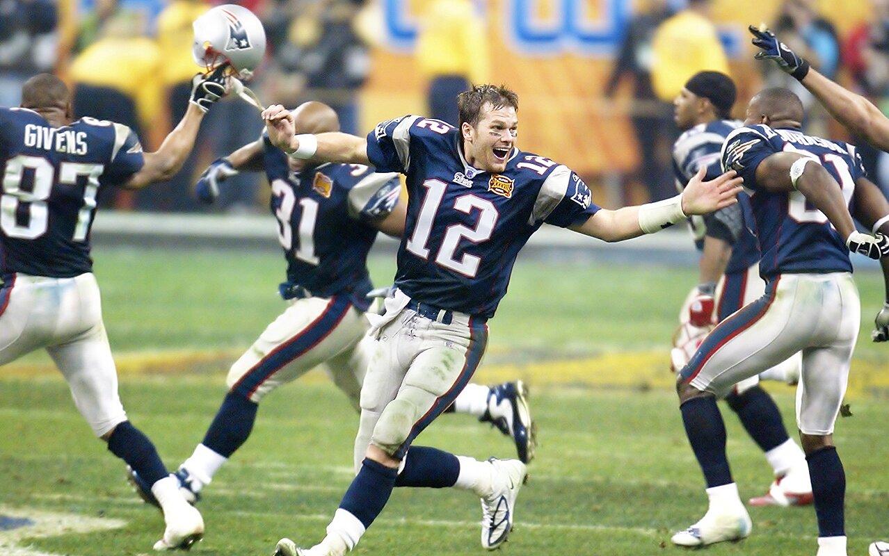 Resultado de imagen para tom brady Super Bowl XXXVIII