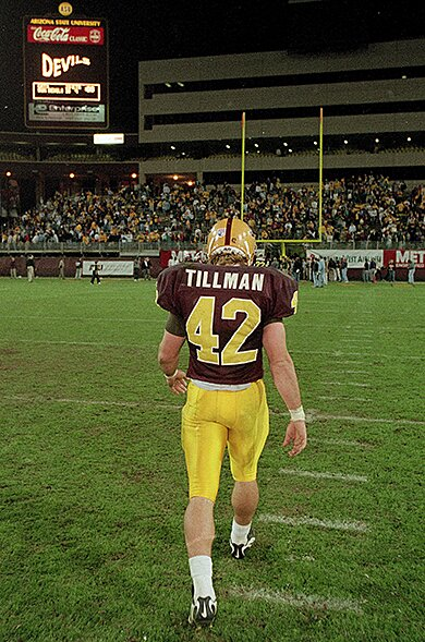 timeless design a6dad e04a2 Pat Tillman: Ex-NFL player's death in Afghanistan touched ...